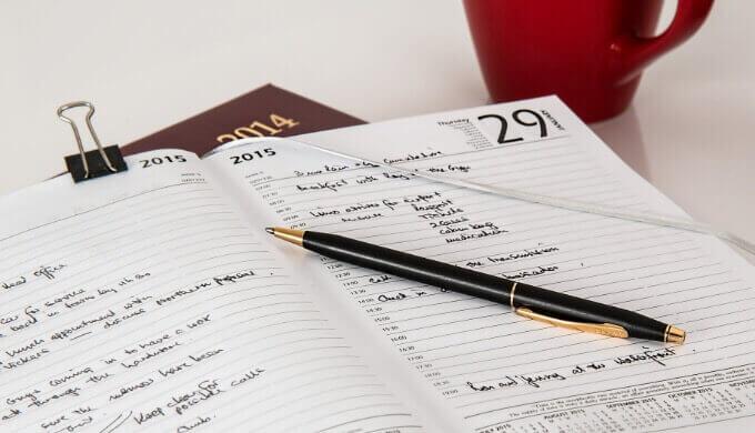 毎日ブログを書き続けるにはエディトリアルカレンダーをつくろう