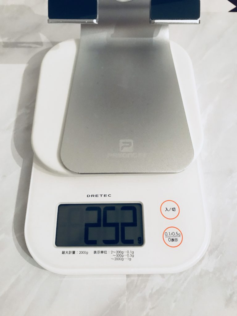 Lomicall ipad 重さ252グラム