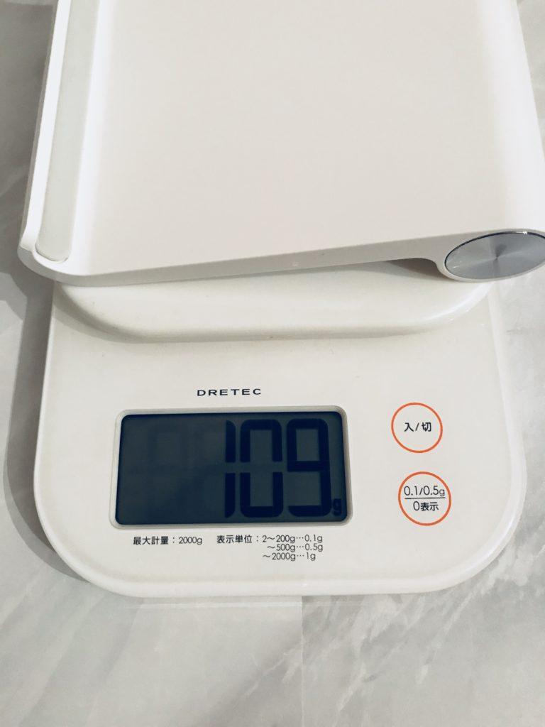 UGREEN タブレットスタンド 重さ計測108グラム