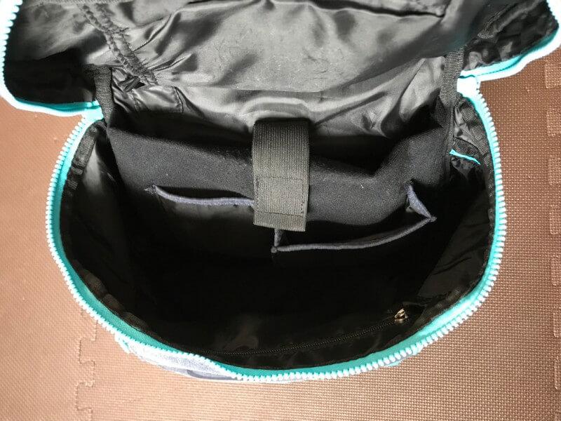 UPQ Bag BP02 miniのメイン収納部