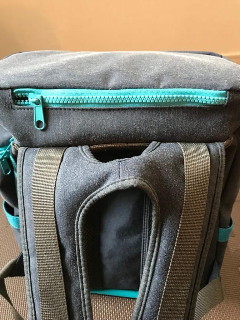 UPQ Bag BP02miniの上部ポケット