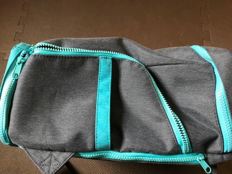 UPQ Bag BP02miniのサイドジッパー