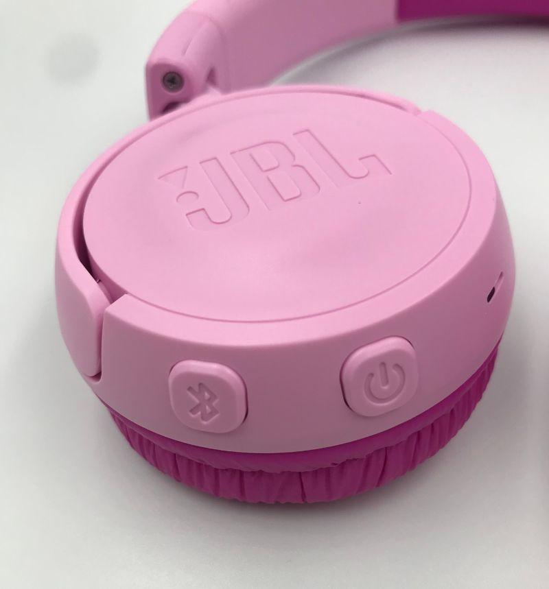 JBL JR300BTのボタン部