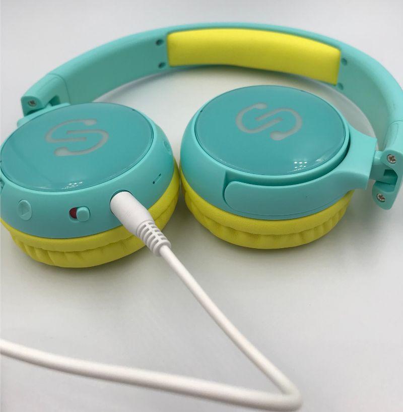 SoundPEATS Kidsは有線でも使える