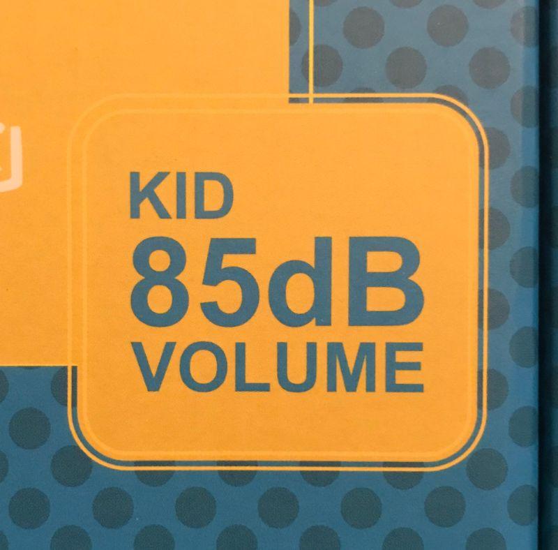 子供用ヘッドホンには85デシベルまでの音量制限あり